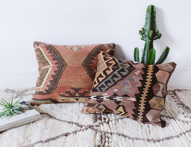Kilim Pillows 18x18 inches (45x45cm)