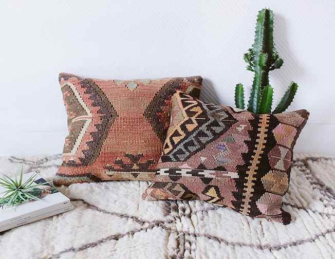 Kilim Pillows 24x24 inches (60x60cm)