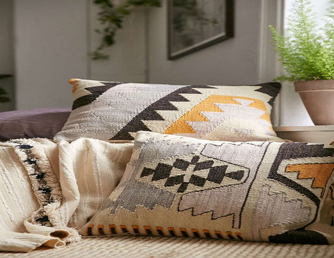 Kilim Pillows 16x16 inches (40x40cm)
