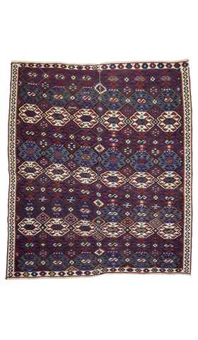 Antique Kurdish Kilim Rug