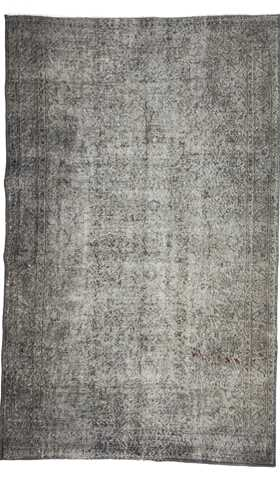 Vintage Gray Over-dyed Rug