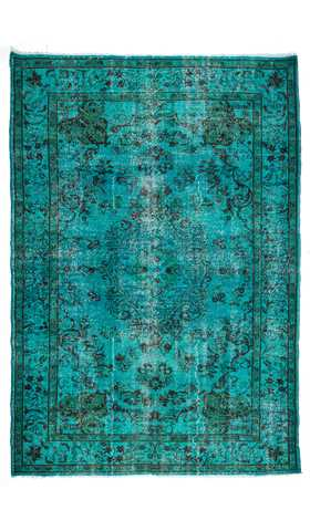 Over-dyed Turkish Rug