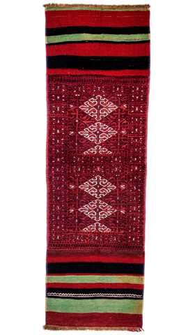 Vintage Nomadic Embroidery Runner