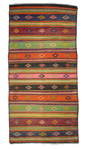 Decorative Multicolor Kilim