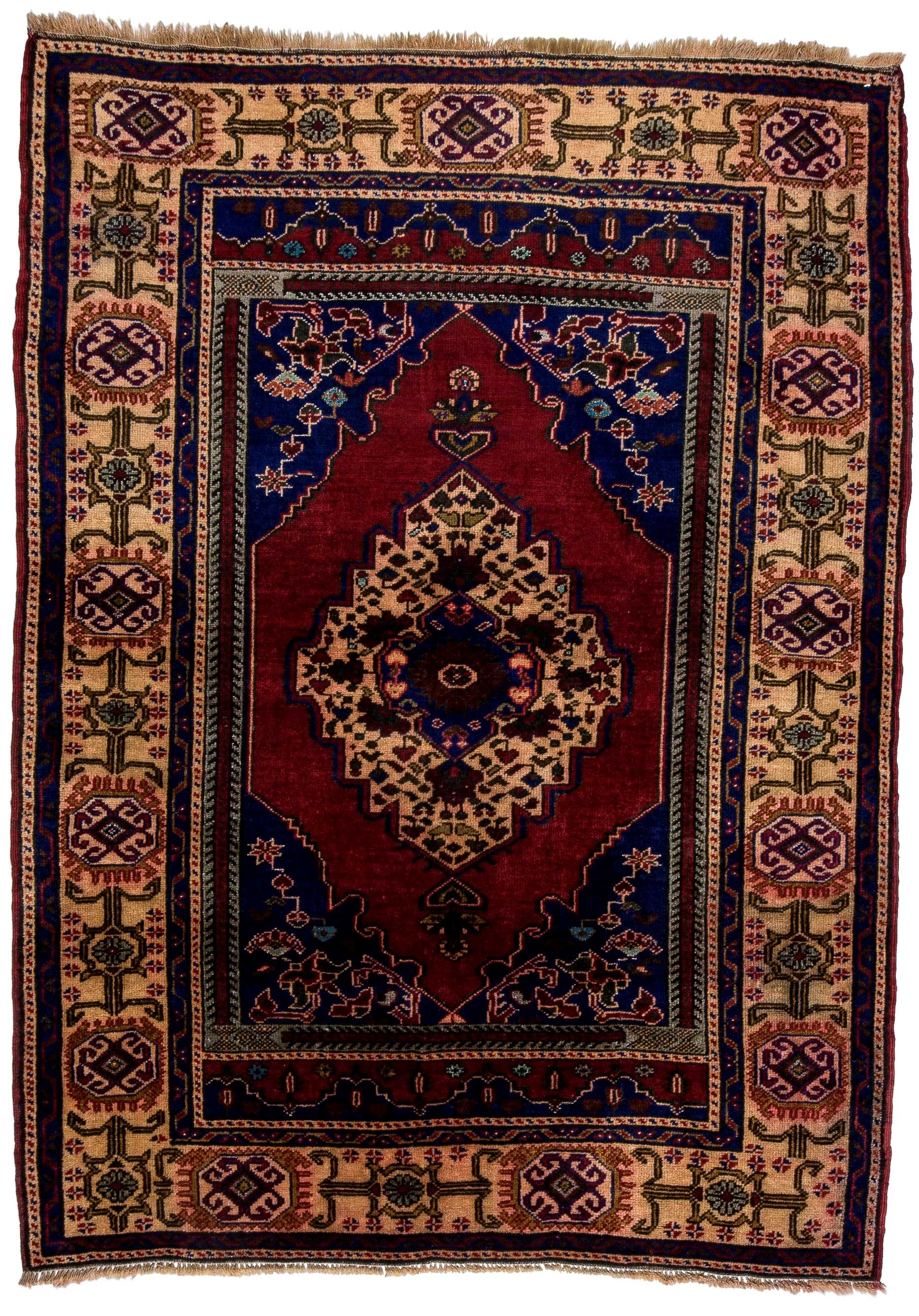 Turkish Semi Old Rug 0783