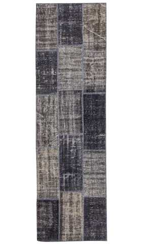 Over-dyed Patchwork Runner