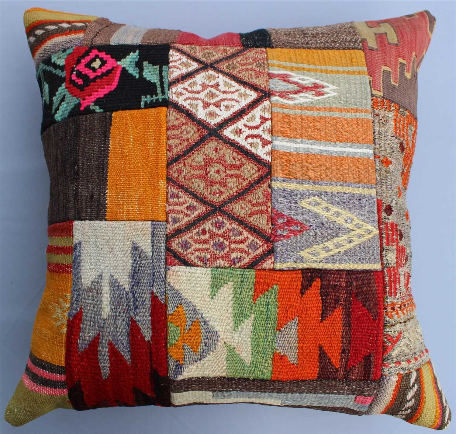 Patchwork Kilim Pillow Cover 1266