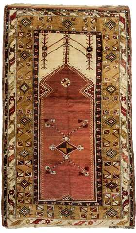 Turkish Milas Rug