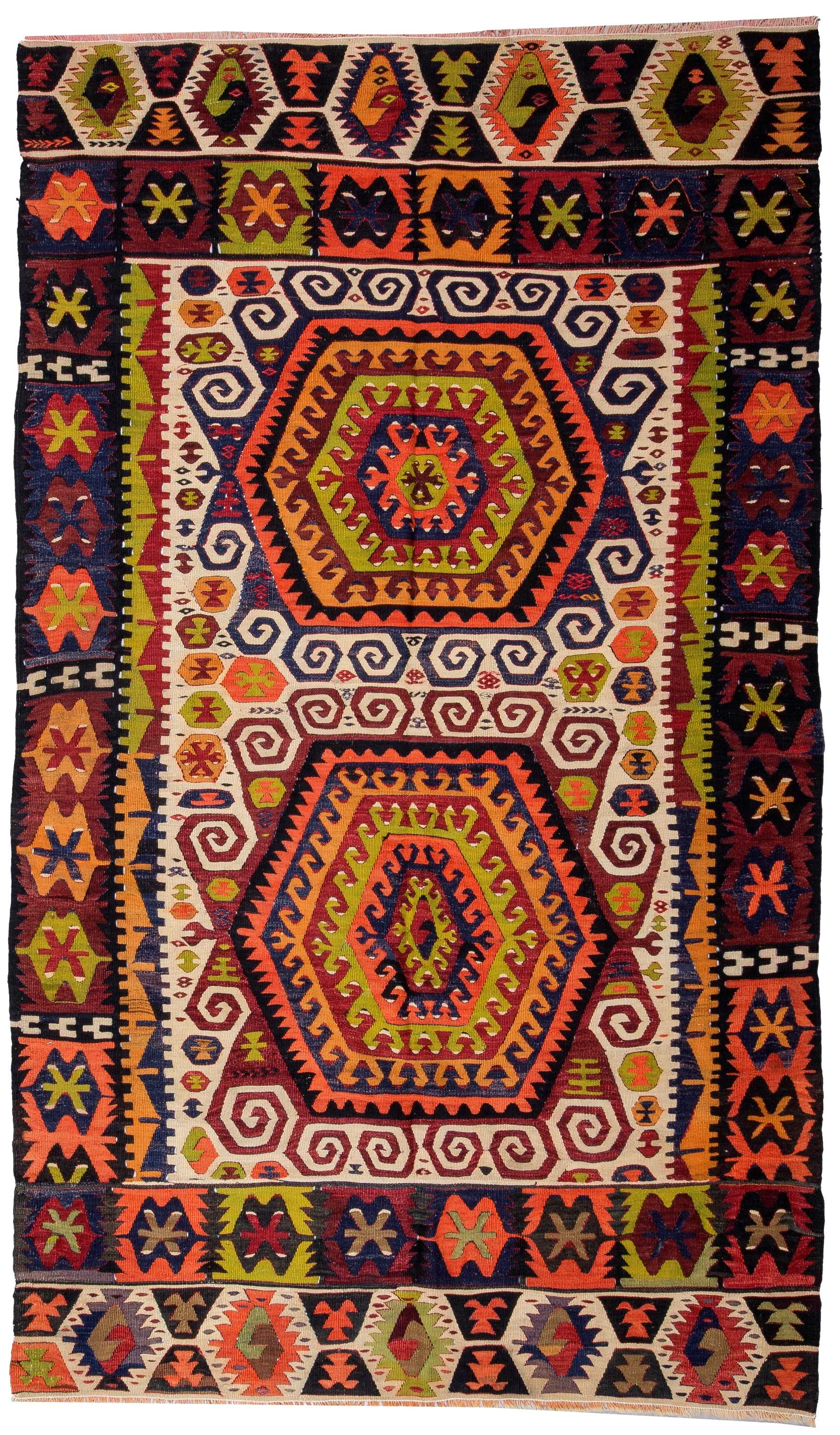 10 Runner Rug Vegetable
