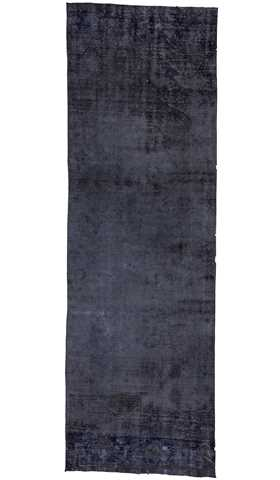 Vintage Over-dyed Runner Rug