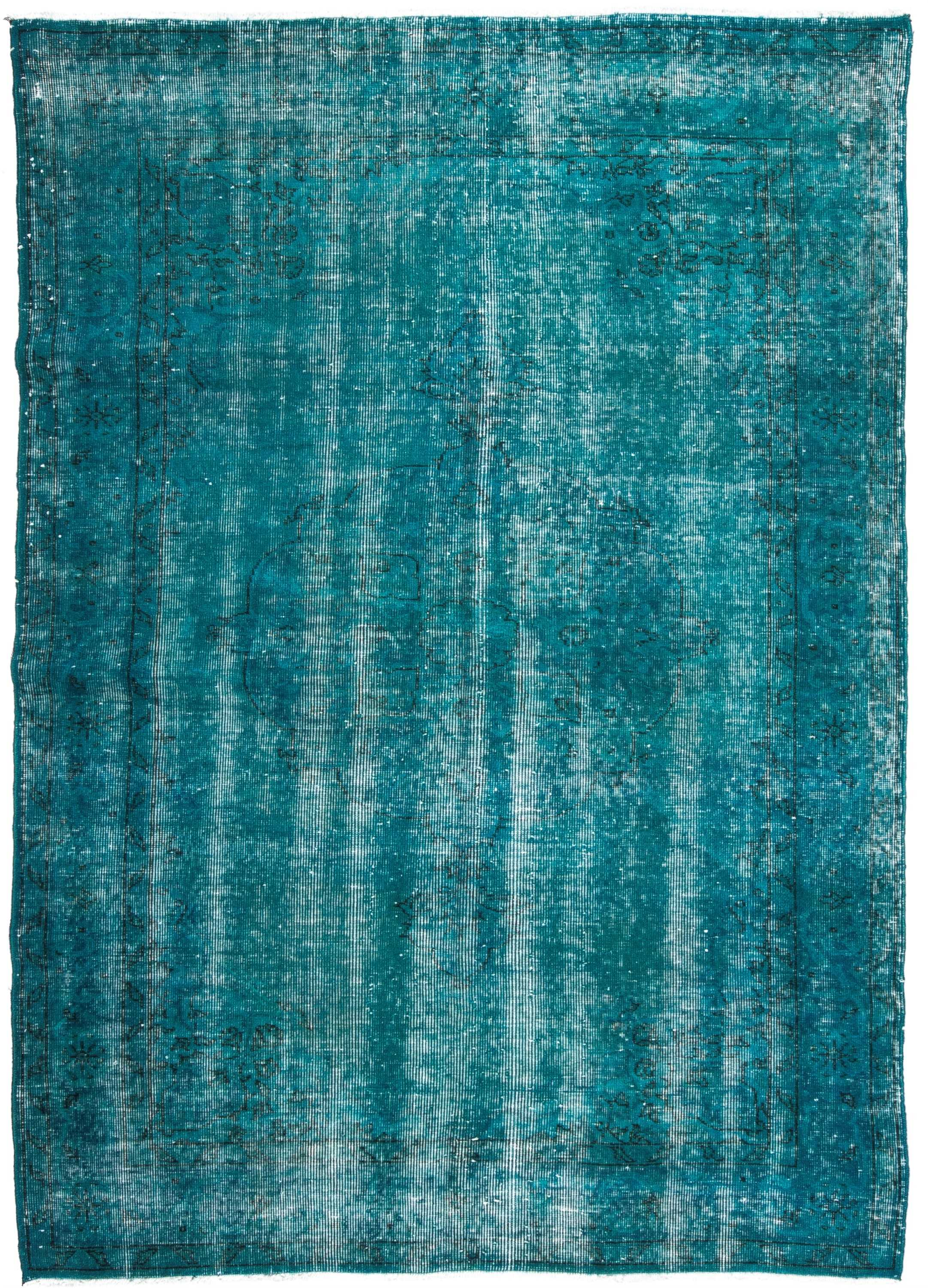 Vintage Over Dyed Turkish Rug