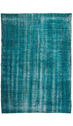 Vintage Over-dyed Turkish Rug