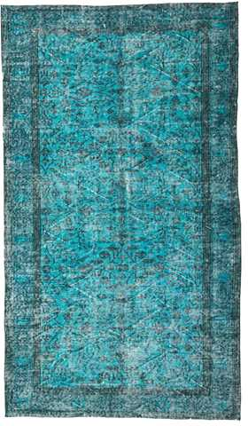 Vntage Over-dyed Turkish Rug