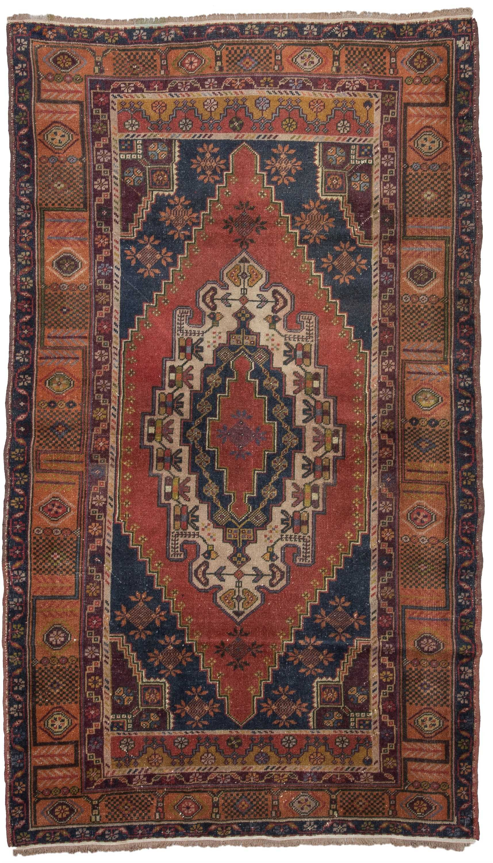 Vintage Turkish Rug 1464