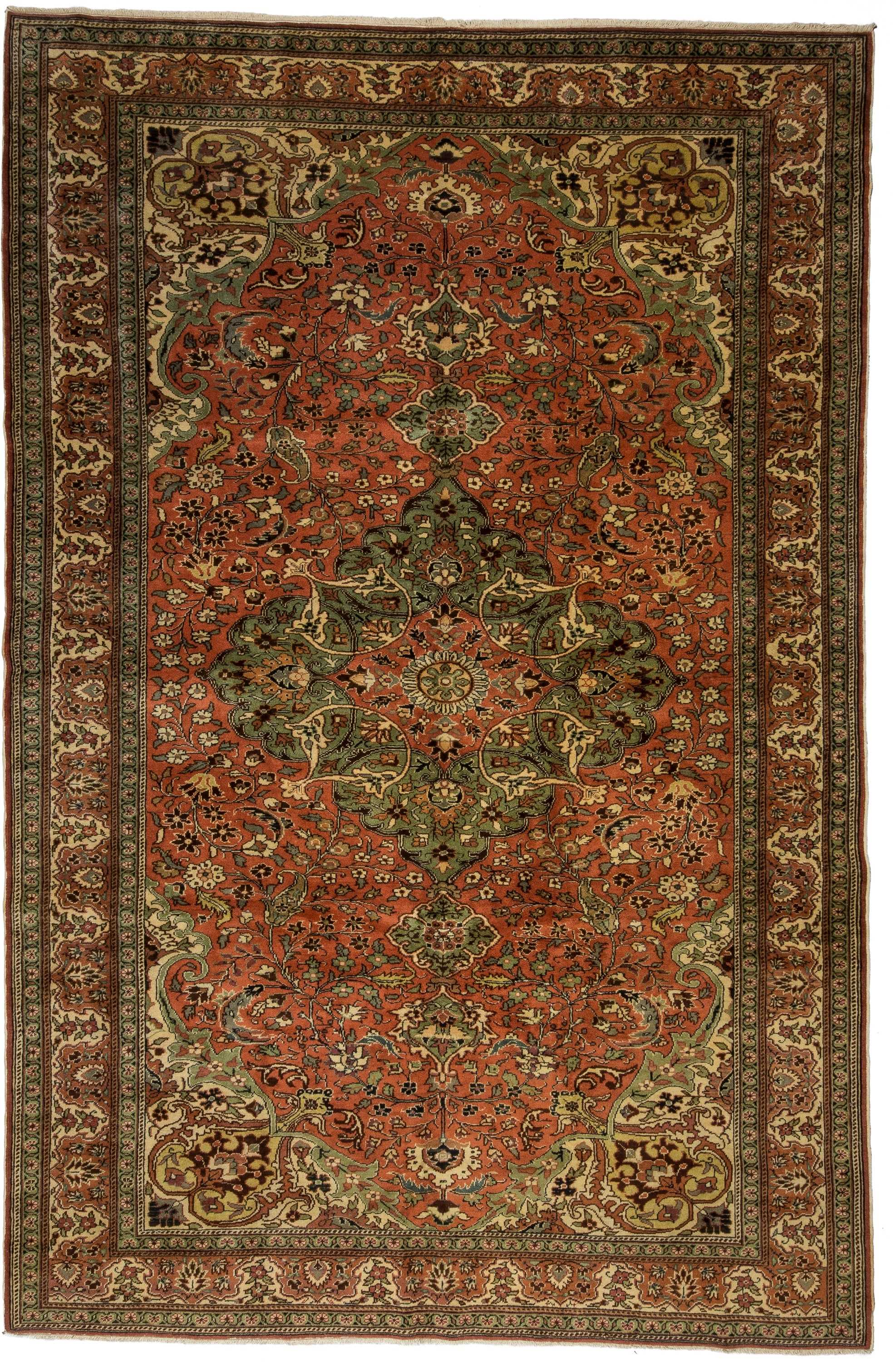 Vintage Turkish Rug 1541