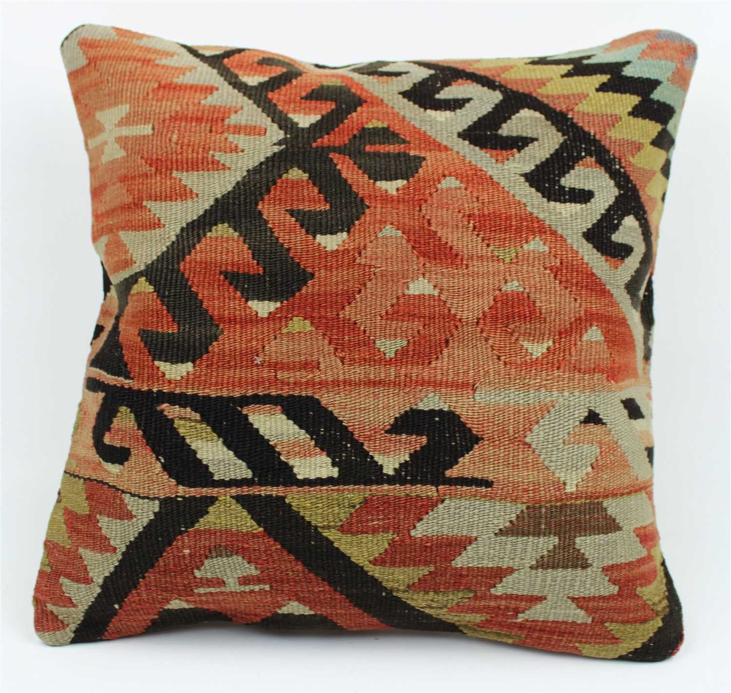 kilim skova orange products pillow