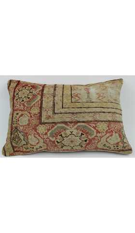 Vintage Lumbar Carpet Pillow