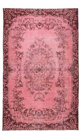 Over-dyed Isparta Rug