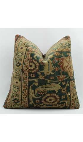Vintage Carpet Pillow Cover