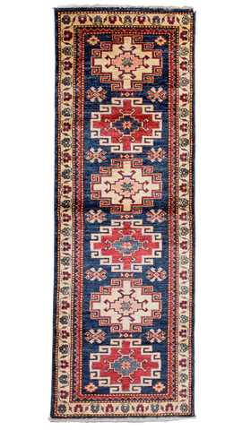 Tribal Kazak Runner Rug