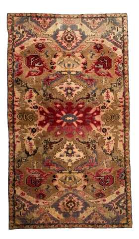 Antique Kayseri Carpet 19 th century