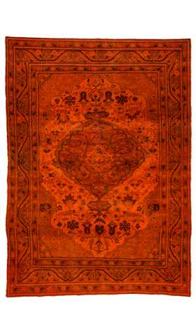 Over-dyed Kayseri Rug
