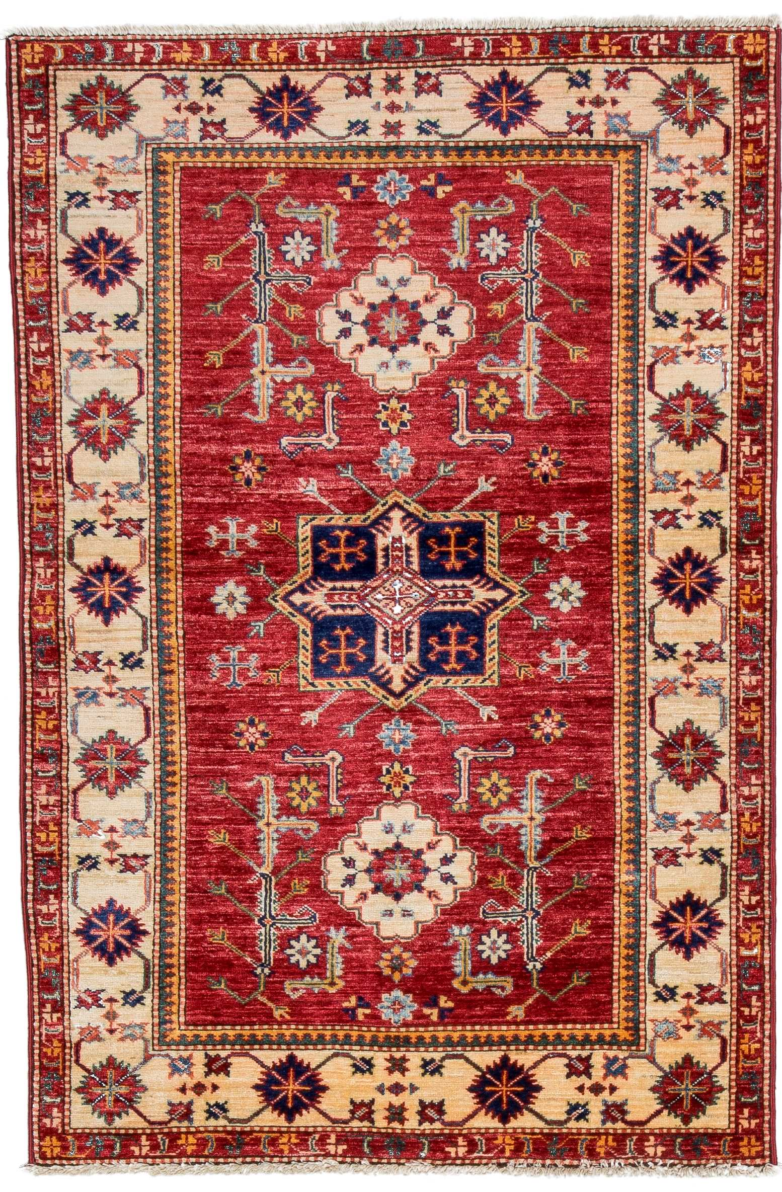 Tribal Kazak Rug 30779