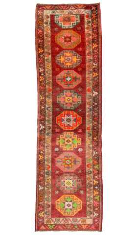 Decorative Tribal Runner Rug