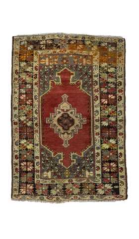 Antique Turkish Nigde Rug