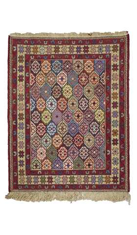 Decorative Soumak Kilim