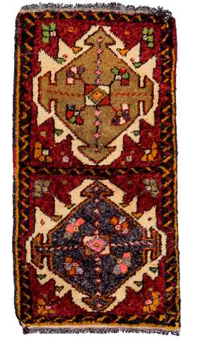Decorative Small Turkish Rug