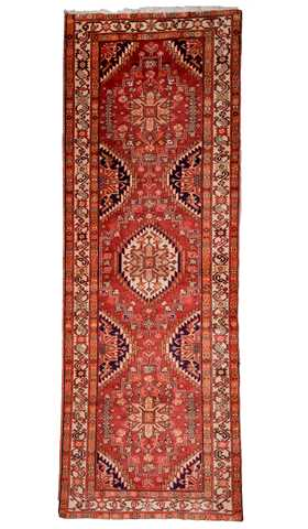 Vintage Rugs, Persian Rugs, Heriz Runner Rugs, Carpet from Iran