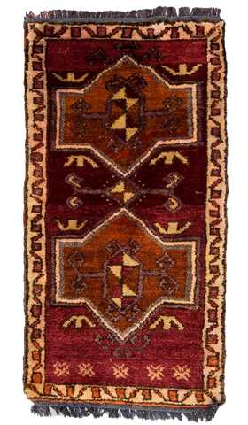 Decorative Kurdish Rug