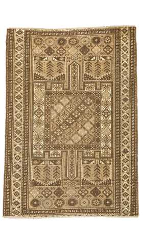 Decorative Vintage Turkish Rug