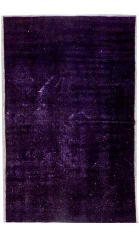 Decorative Overdyed Rug