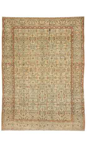 Vintage Decorative Turkish Rug