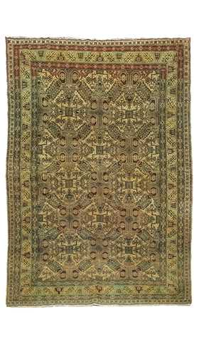Hand Made Vintage Turkish Rug