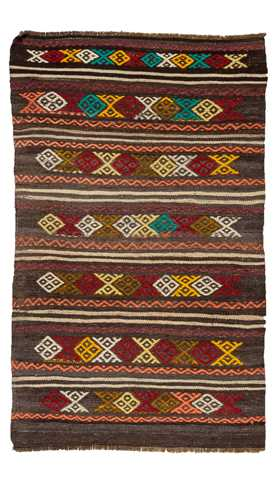 Turkish Vintage Kilim Rug