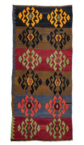 Decorative Kilim Runner Rug
