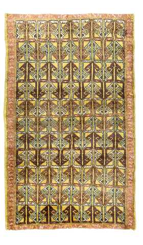 Vintage Decorative Turkish Tribal Rug