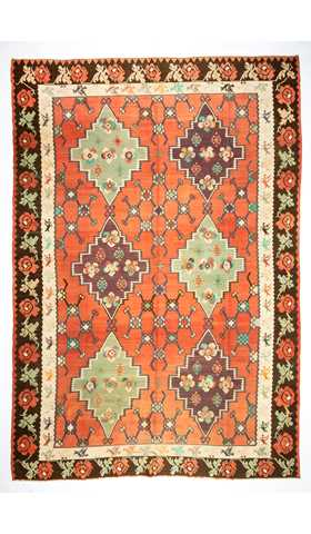 Soft Color Kilim Rug