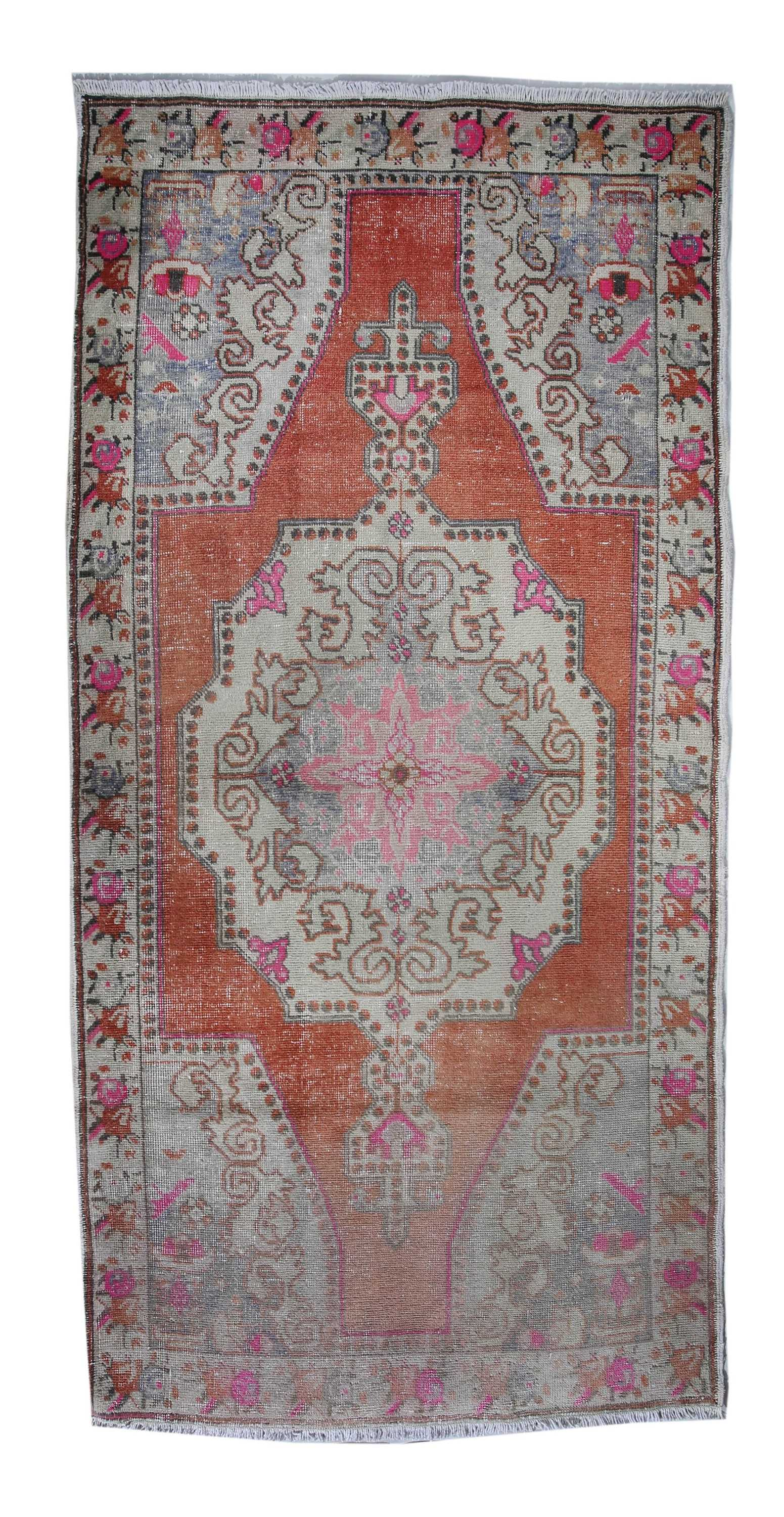 vintage turkish rug vr126 87969