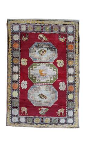 Turkish Urgup Tribal Rug