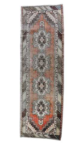Turkish Vintage Runner Rug
