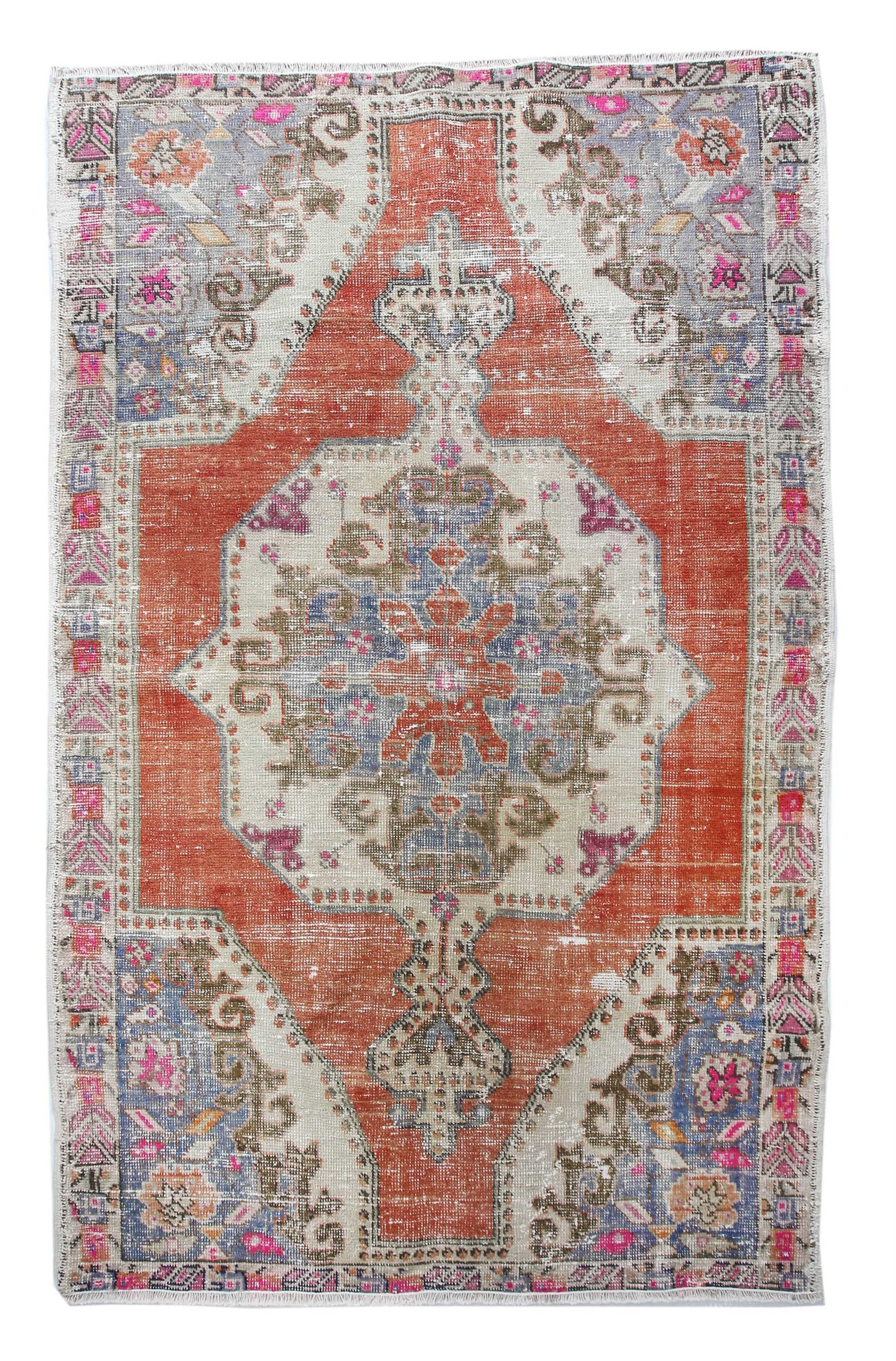 vintage turkish rug vr86 87969